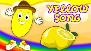 Yellow | Colors Song For Children | Colors Lessons For Kids,Babies & Toddlers by SillySox