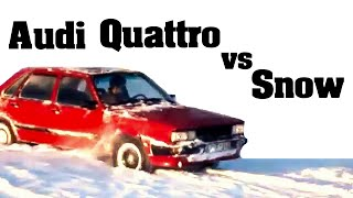 Audi Quattro vs Snow [Compilation] (2016)