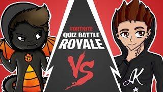 Firegoden GEGEN AlphaKevin | Fortnite Quiz Battle Royale #02