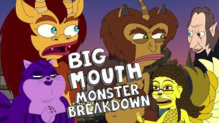 EVERY MONSTER in Big Mouth Season 2