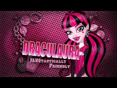 MONSTER HIGH Draculaura Inspired Halloween Makeup Look