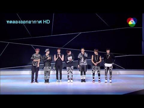 CH 7 Digital TV HD Test02 : BTS Bangtan Boys Live in Bangkok. Thailand TV rerun
