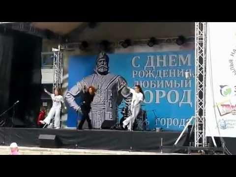 Выступление на дне города Пушкино 2012 - тренер Светлана