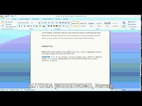 ABNT - Dicas para formatar seu texto