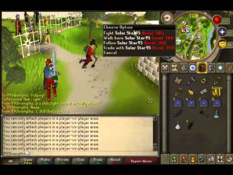 Runescape - Durial321 Moment Glitch