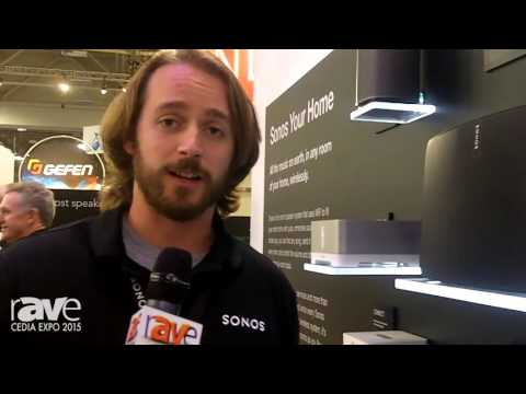 CEDIA 2015: Sonos Showcases Play 5 Speaker with Capacitive Touch Control