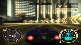 Nfs Most Wanted - Pagani Zonda 2006 vs Mercedes CLK 500 [HD]