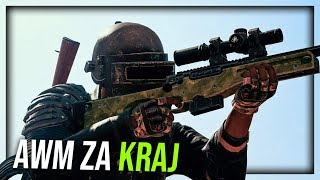 AWM ZA KRAJ ! Playerunknown's Battlegrounds