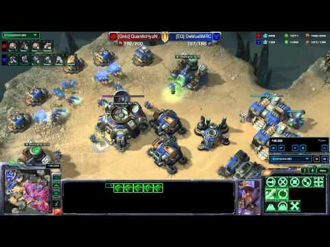 HD Starcraft 2 Hyun v Demuslim ZvT Heart of the Swarm