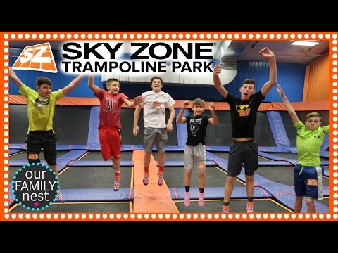SKYZONE FLIPS & TRICKS -  CHASE'S 14th BIRTHDAY PARTY