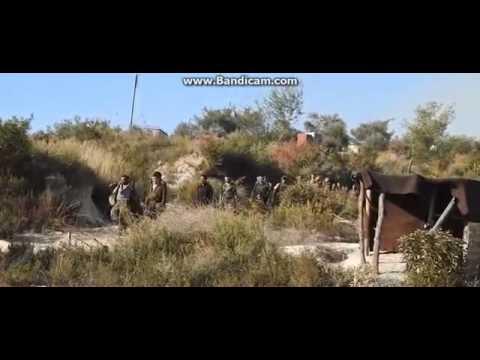 Кадры спасения Штурмана СУ-24 сбитого на территории Сирии Турецкими летчиками.