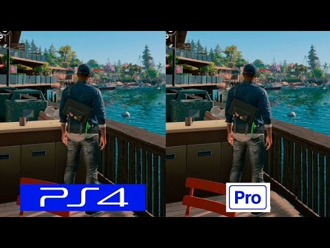 Watch Dogs 2 | PS4 VS PS4 PRO | GRAPHICS COMPARISON | Comparativa