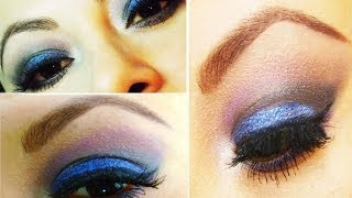 Maquillaje con Glamour y glitter - Glamorous Makeup with glitter