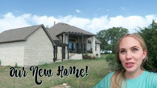 MOVING INTO OUR NEW HOUSE!