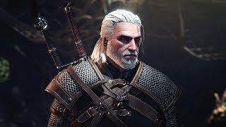 Monster Hunter World x The Witcher: Full Playthrough and Leshen Boss Fight