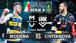 Modena vs. Lube Civitanova | Full Match | Italian Volleyball League 2019