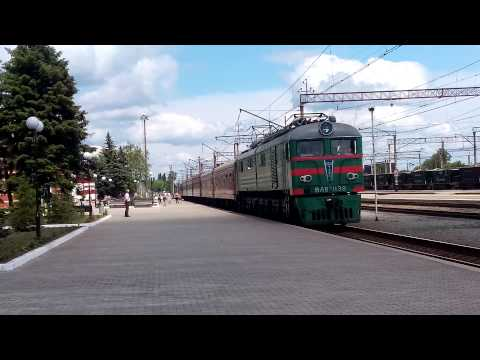 Поезд 223-224Харьков-Константиновка. Ст.Краматорск