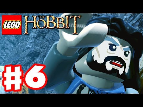 LEGO The Hobbit - Gameplay Walkthrough Part 6 - Over Hill and Under Hill (Xbox One. PS4. PC)