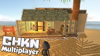 Island Base & House Building! - CHKN Multiplayer Gameplay [Ep 8] - Multiplayer Update