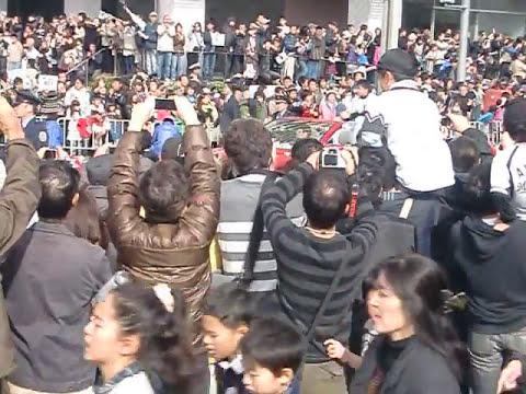 Chiba Lotte Marines' 2010 Victory Parade @ Makuhari