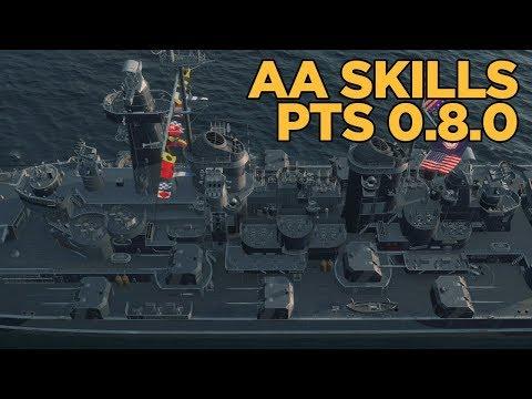 0.8.0 AA Commander Skills Critique - World of Warships