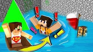 SUYLA DOLAN ODADAN KAÇIŞ - Minecraft