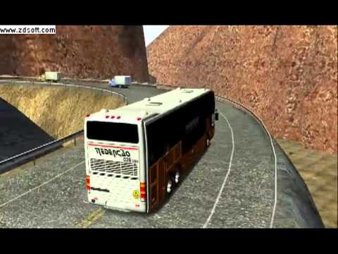 18 wheels of steel haulin mod bus v6 by grafith (13).avi