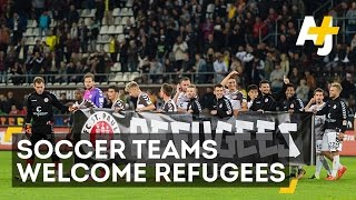 Soccer Players Are Scoring For Refugees