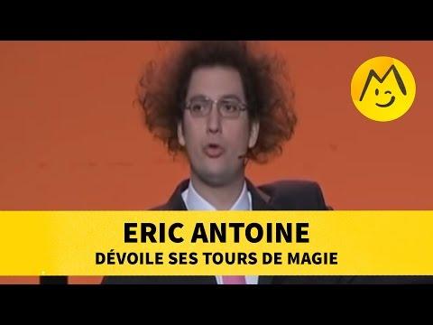 Eric Antoine dévoile ses tours de magie