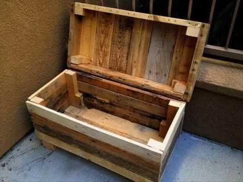 Деревянные ящик сделать своими руками 54