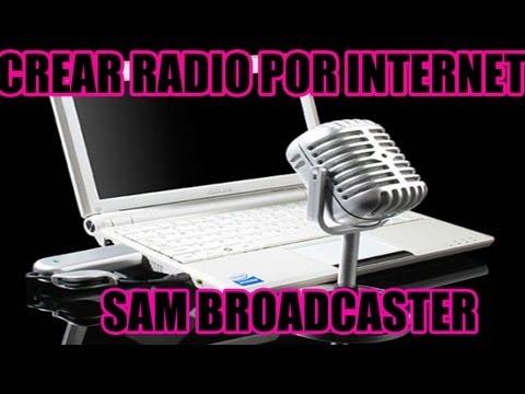 crear radio Giss.tv con sam broadcaster ponerla en tu web