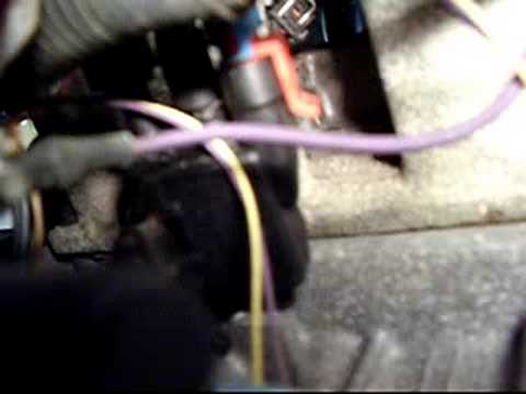 ford fuel injector wiring diagram evap solenoid location youtube  evap solenoid location youtube