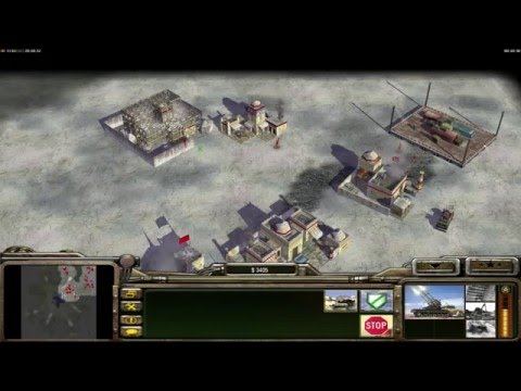Command and Conquer Generals zero hour FFA multiplayer funny begining