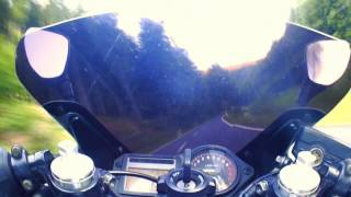 Weekend speeding - Honda CBR 600 F onboard 48PS HD