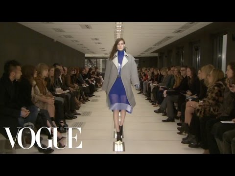 Balenciaga Ready to Wear 2012 Vogue Fashion Week Runway Show