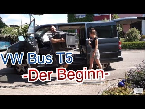 VW Bus T5 Multivan - Der Beginn-