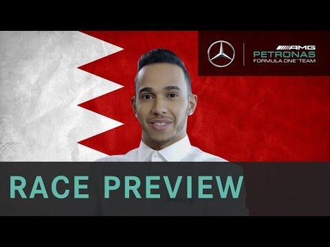 Lewis Hamilton 2015 Bahrain Grand Prix Race Preview, with Allianz