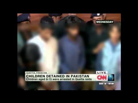 Kids young as 8 used by Baloch separatists or Punjabi ISI as bombers in Pakistan