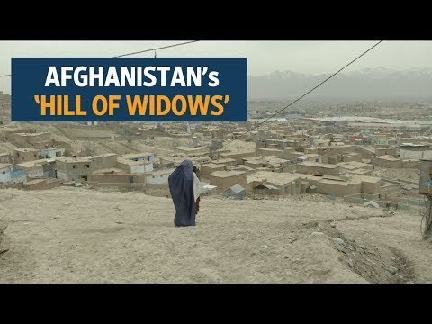 Afghanistan's 'hill of widows' live in a world apart