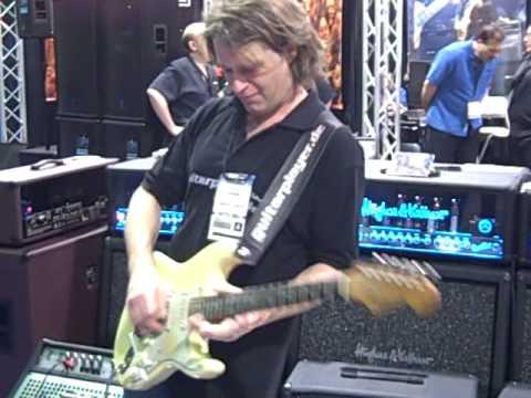 Thomas Blug PART I: Strat Mastery at the 2009 NAMM Show in Anaheim, California