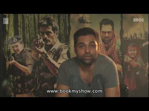 Abhay Deol - Book Tickets For Chakravyuh