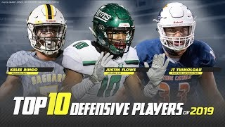Top 10 Defensive Players in High School Football