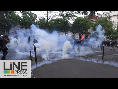 Loi Travail. Manifestation et violences / Paris - France 19 mai 2016