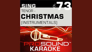 Christmas Song Chestnuts Karaoke Instrumental Track In The Style Of Johnny Mathis