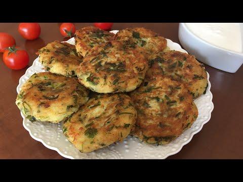 Kartoshka va ko'katli kotlet/Котлеты с картошкой и зеленью