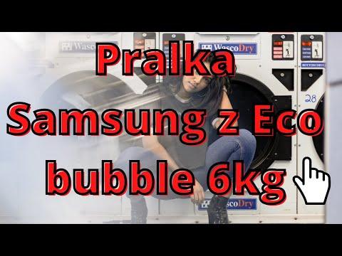 Samsung WF60F4E0W0W z Eco bubble 6kg