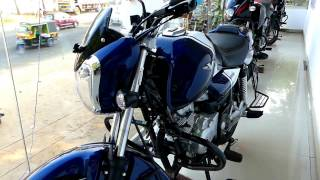 Bajaj V15 Ocean Blue Colour