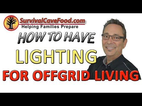 OFF GRID LIVING: Living off grid -   LIGHT SOURCES