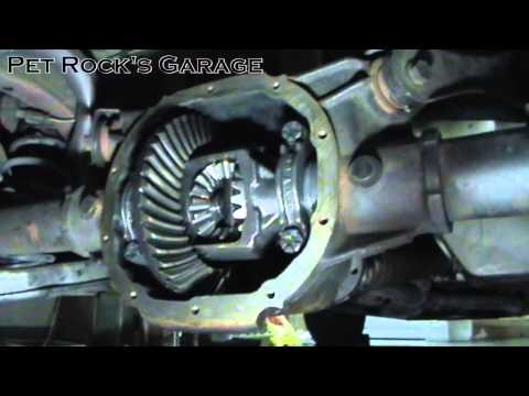 how to replace axle seals bearings in ford 7 5 8 8. Black Bedroom Furniture Sets. Home Design Ideas