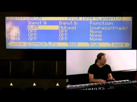 8 Kurzweil PC3 Series: Program Mode Editor (Part 6)